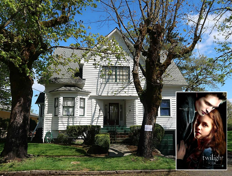 Bella Swan's House Twilight Movie Airbnb Rental