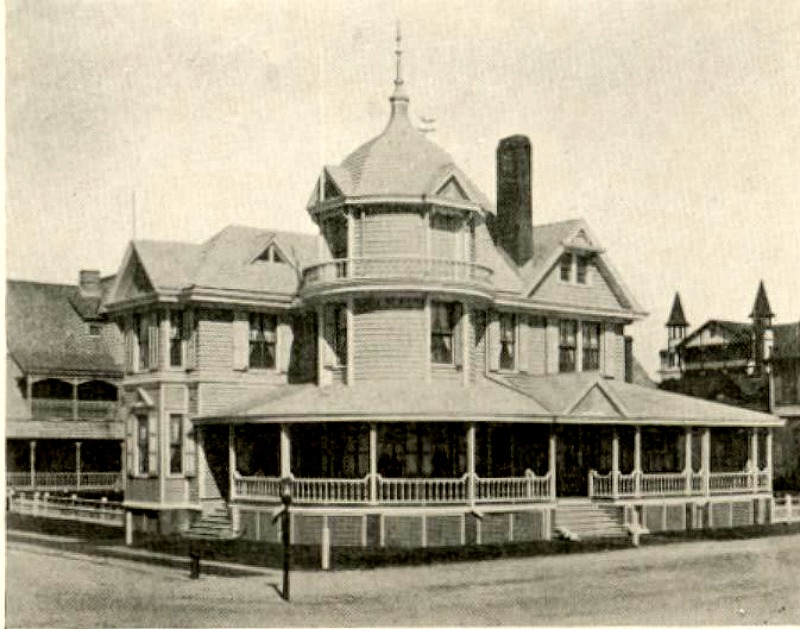 Historic Photo of Williams Cottage on Atlantic Ave Beach Haven