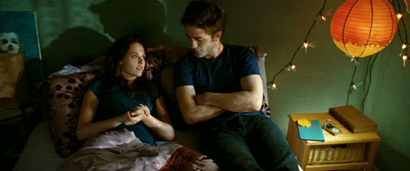 Robert Pattinson Edward Twilight Bella's Bedroom