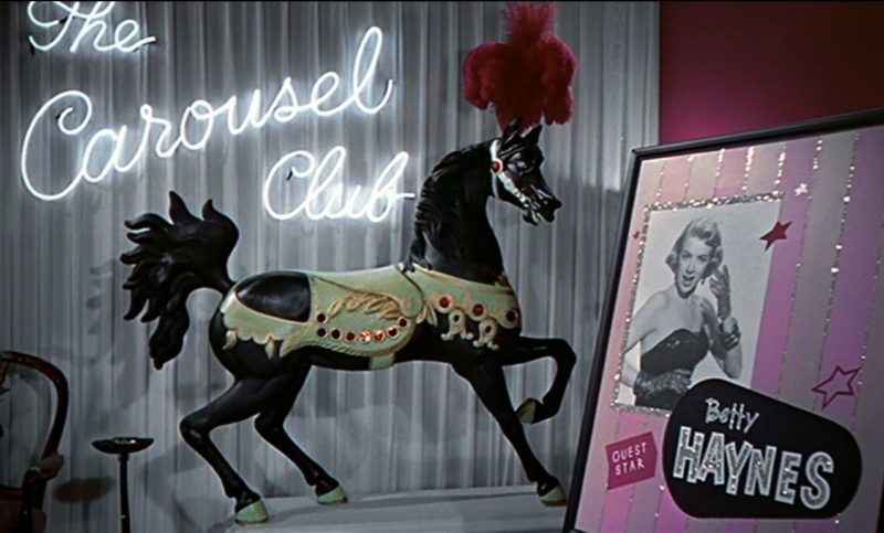 The Carousel Club in White Christmas