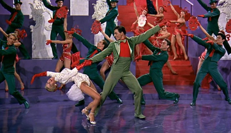 John Brascia dancing with Vera-Ellen White Christmas