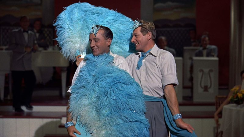 Bing Crosby and Danny Kaye singing Sisters