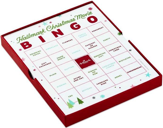 Hallmark Christmas Movie Bingo Cards