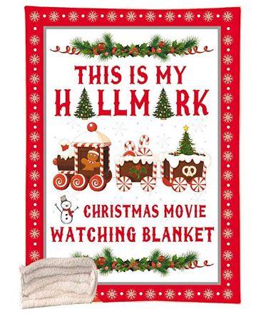 Hallmark Christmas Movie Blanket