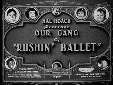 Our Gang Little Rascals Title Card