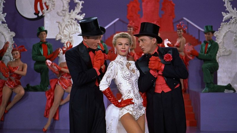 Performing Mandy in White Christmas