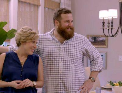 Ben and Erin Napier on Home Town HGTV