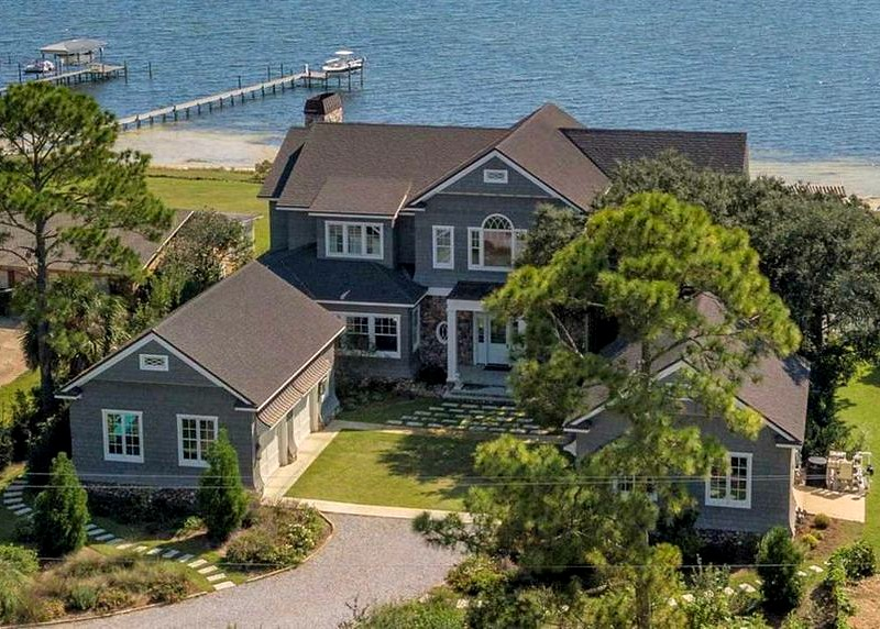 Big Lagoon Luxury Waterfront Home For Sale Pensacola