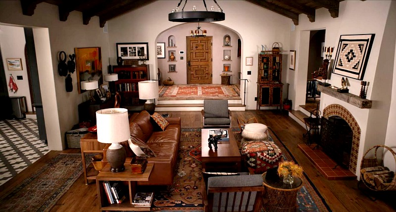 Robert and Sol's House Living Room Grace and Frankie