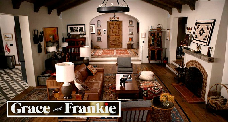 Robert and Sol's House Set Design Grace and Frankie
