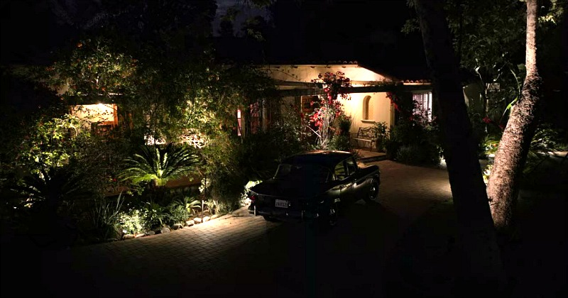 Robert and Sol's House at Night
