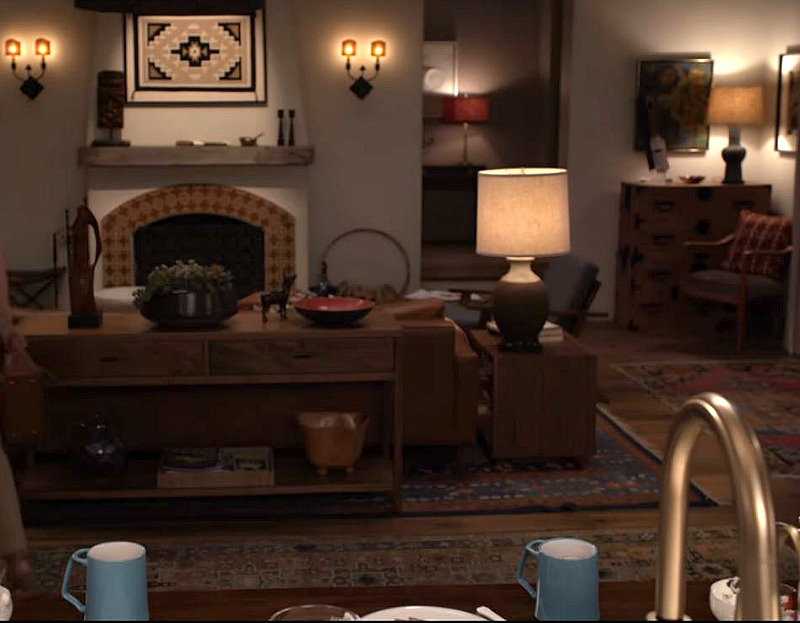 Robert and Sol's Living Room on Grace and Frankie