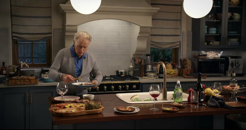 Robert's kitchen Grace and Frankie