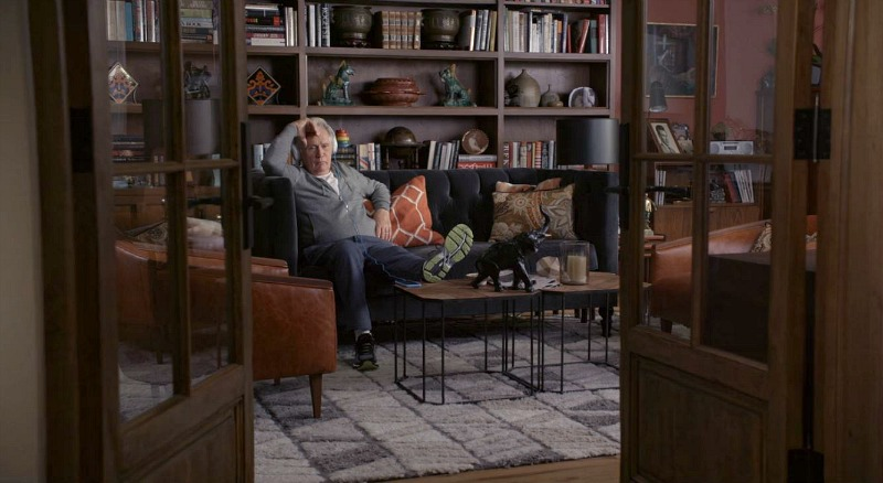 Sol and Robert's den on Grace and Frankie