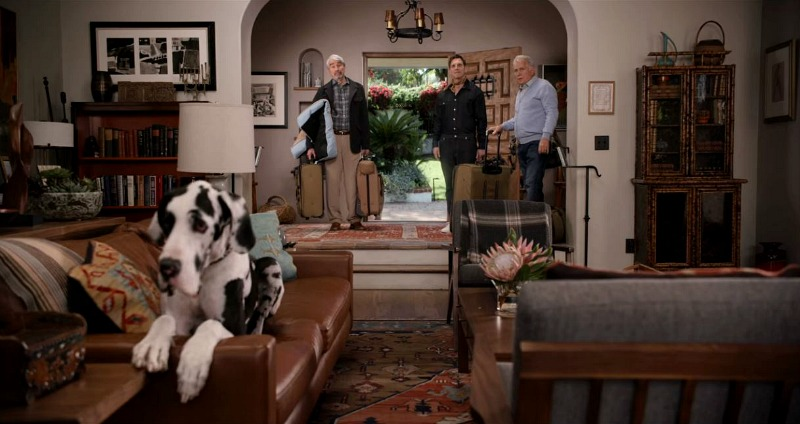 great room on Grace and Frankie