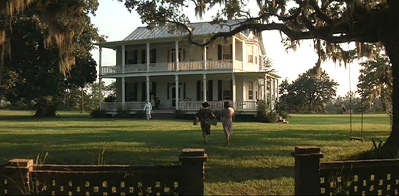 Big Old Plantation House Forrest Gump Movie