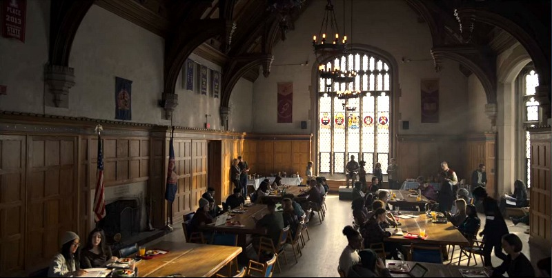 Boarding School on Locke and Key Grand Hall Cafeteria