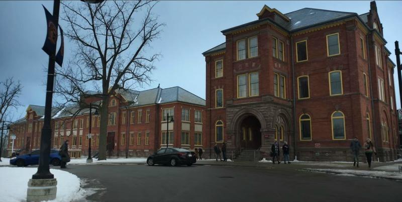 Boarding School on Locke and Key