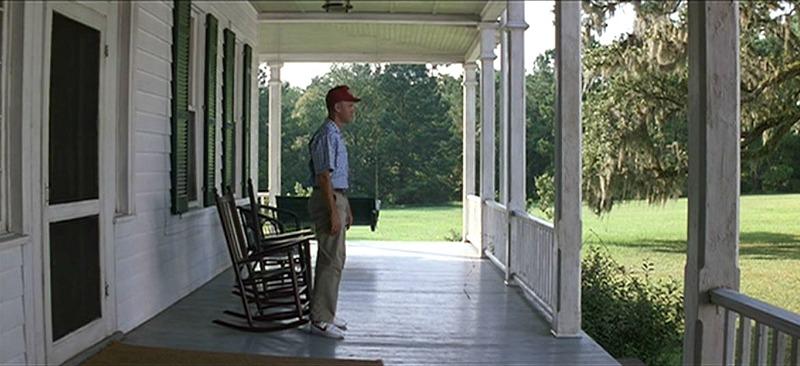 Forrest Gump House Tom Hanks Front Porch