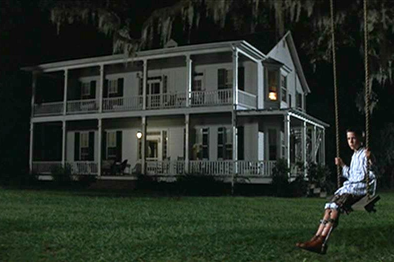 Forrest Gump Movie House at Night Tree Swing