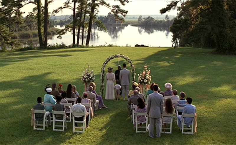 Jenny and Forrest Gump Wedding by River