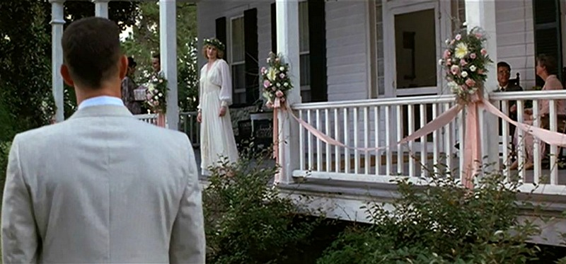 Jenny and Forrest Wedding Day Forrest Gump House