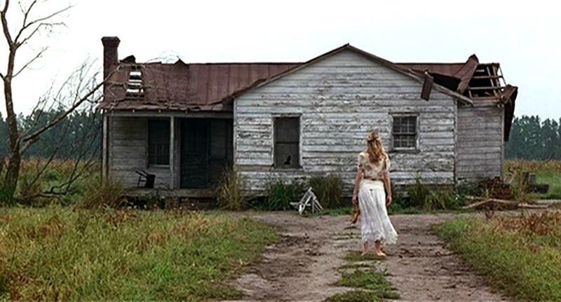 Jenny's old farmhouse in Forrest Gump