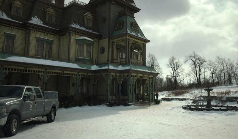 Key House Manor Locke and Key House Netflix Exterior