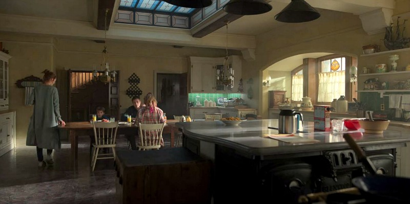 Keyhouse Kitchen in Locke and Key