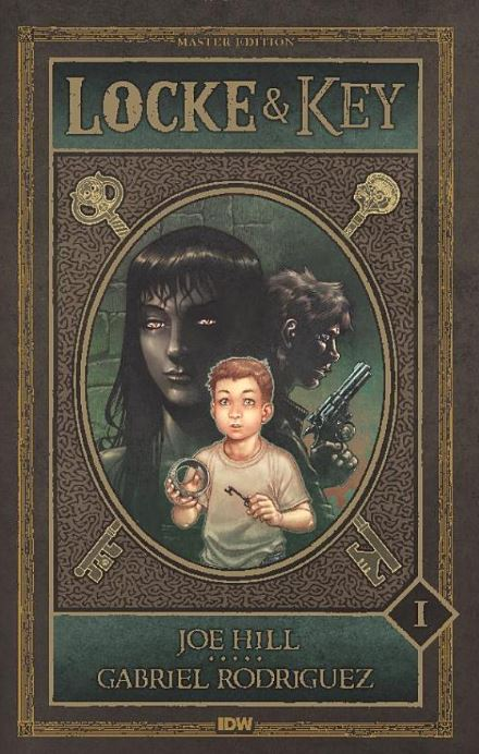 Locke & Key Comic Book Series Joe Hill