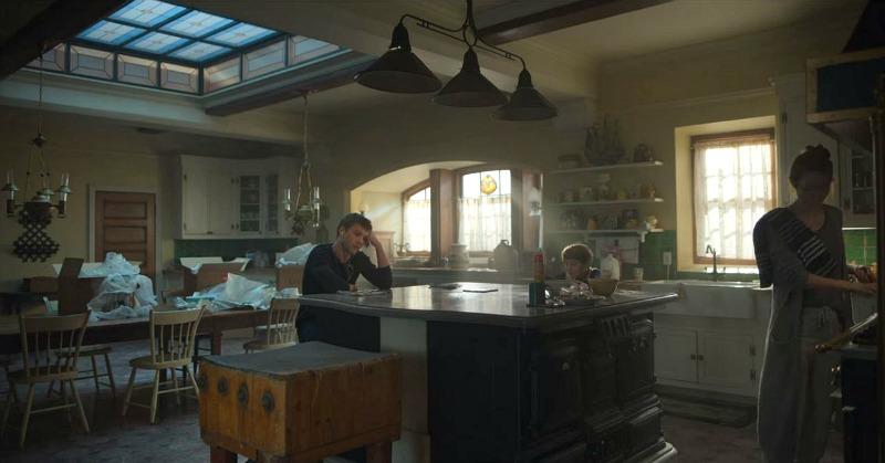 Locke and Key House Kitchen