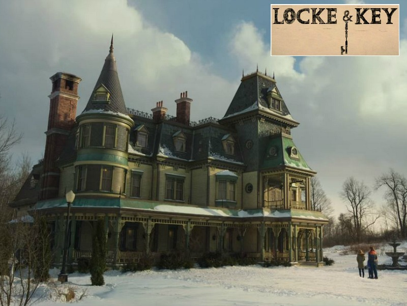 Locke and Key House on Netflix Filming Location