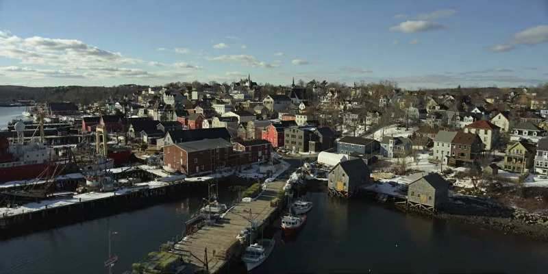 Locke and Key Town in Massachusetts