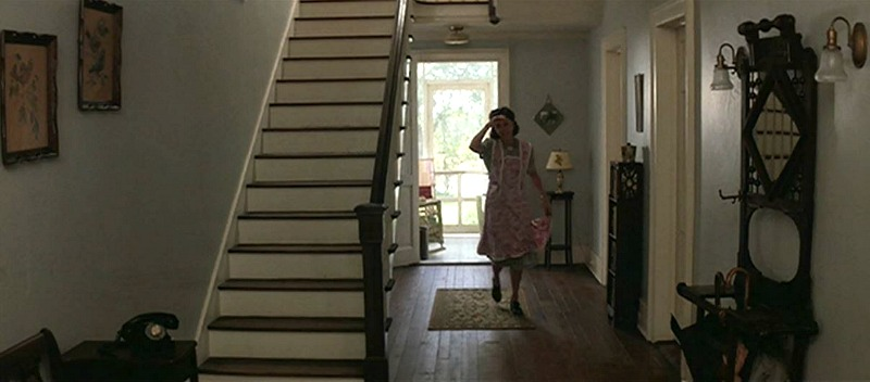 Sally Field Gump Boarding House Entry Hall Staircase
