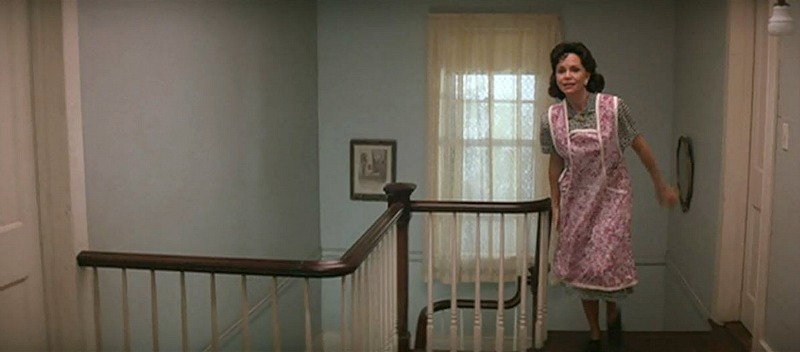 Sally Field in Forrest Gump Upstairs Landing of House