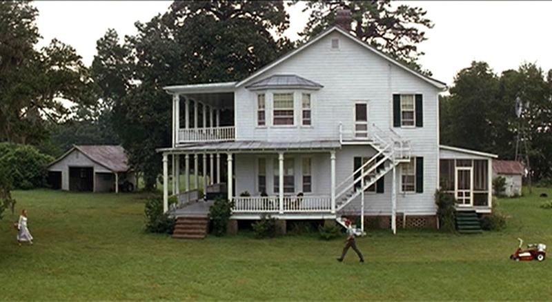 Side View Forrest Gump Movie Plantation House Greenbow Alabama