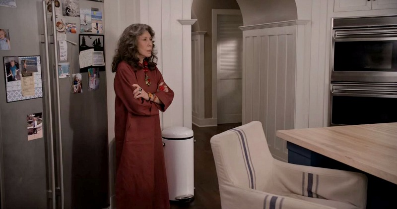 SubZero Refrigerator Grace and Frankie Kitchen