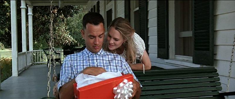 Tom Hanks Robin Wright Forrest Gump Front Porch