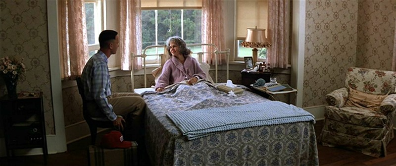 Tom Hanks and Sally Field in Forrest Gump Movie