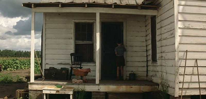 Young Forrest Gump at Jenny's Farmhouse