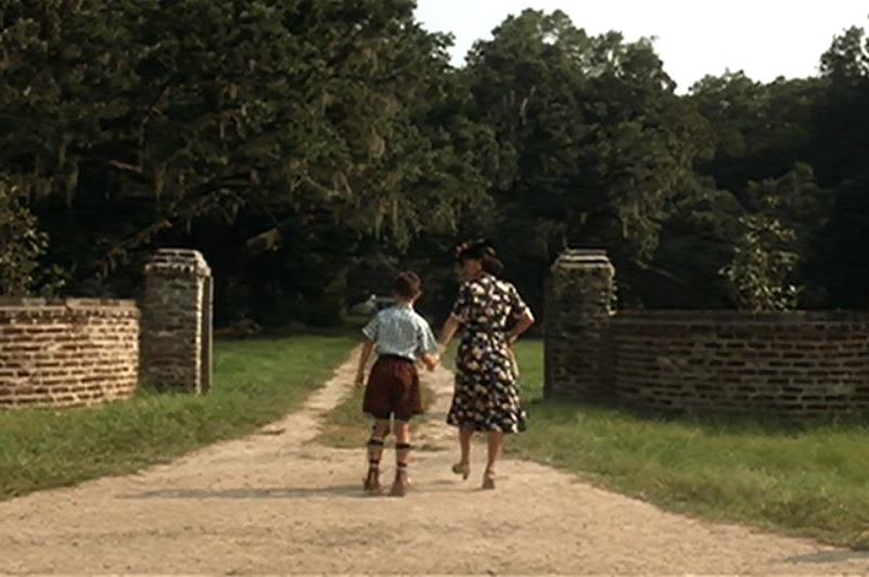 screenshot from Forrest Gump movie front drive