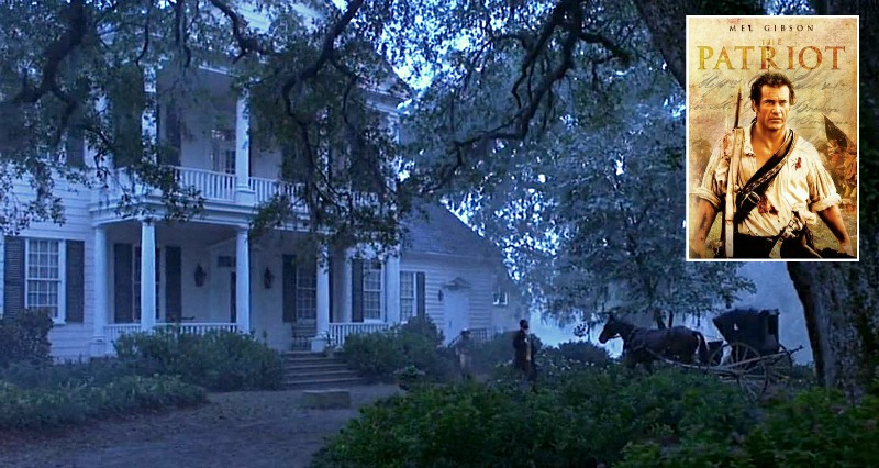 Aunt Charlotte's House in The Patriot Movie