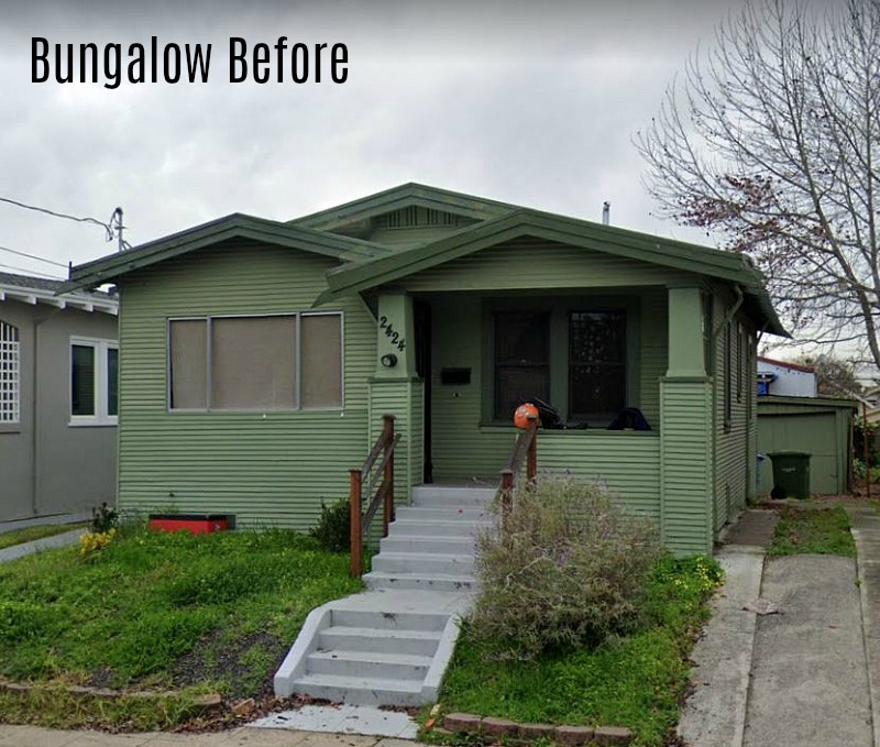 Berkeley Bungalow Before