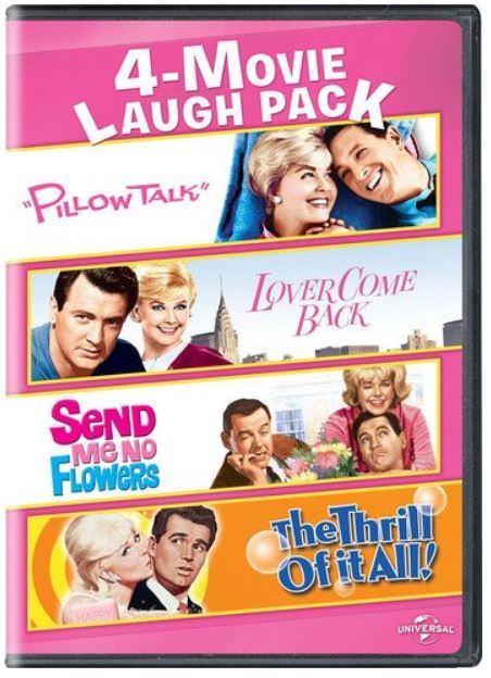 Doris Day movies Pillow Talk Send Me No Flowers