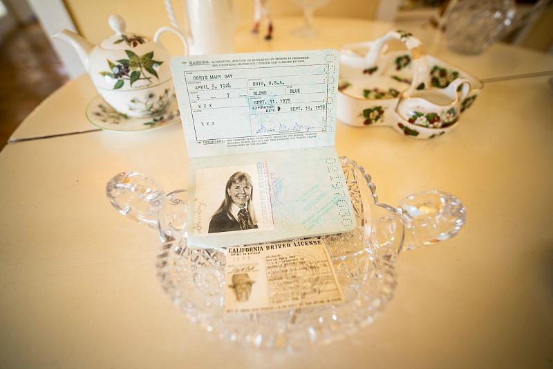 Doris Day's driver's license and passport Julien's Auctions