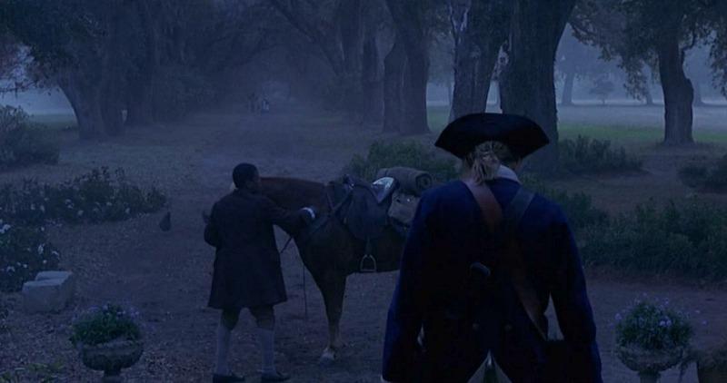 Oak Alley Bluff Plantation in The Patriot Movie