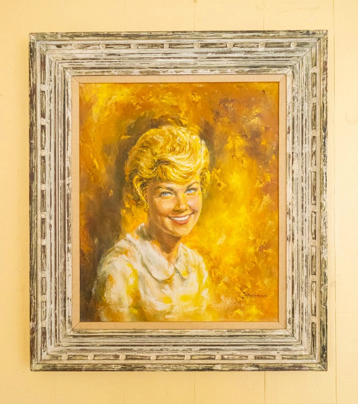 Painting of Doris Day Julien's Auctions