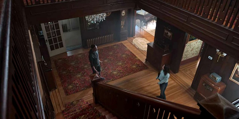 Entry Hall in Dangerous Lies House Netflix