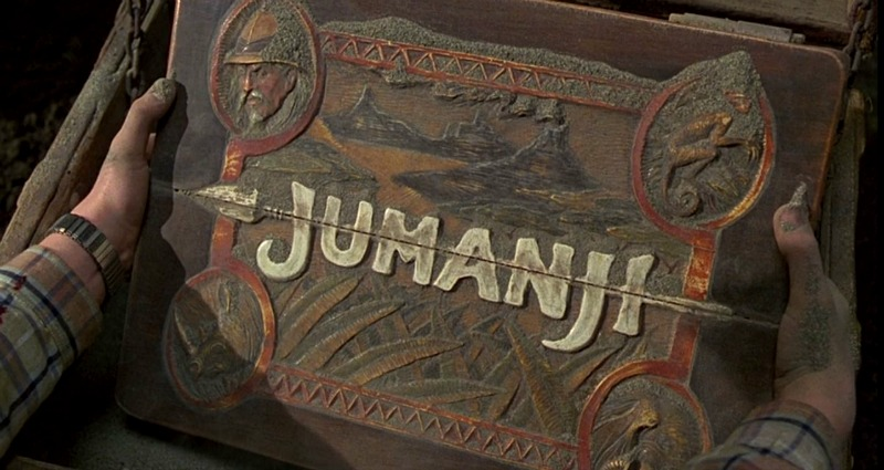 Jumanji game box 1995