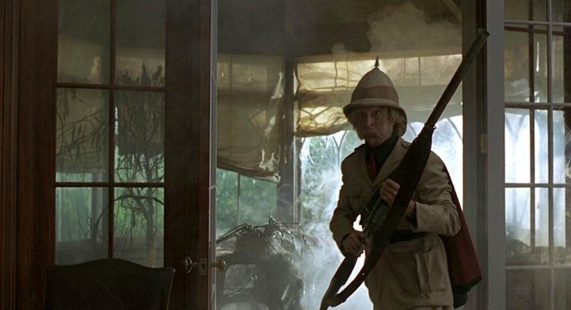 Jumanji movie 1995 Jonathan Hyde as Van Pelt